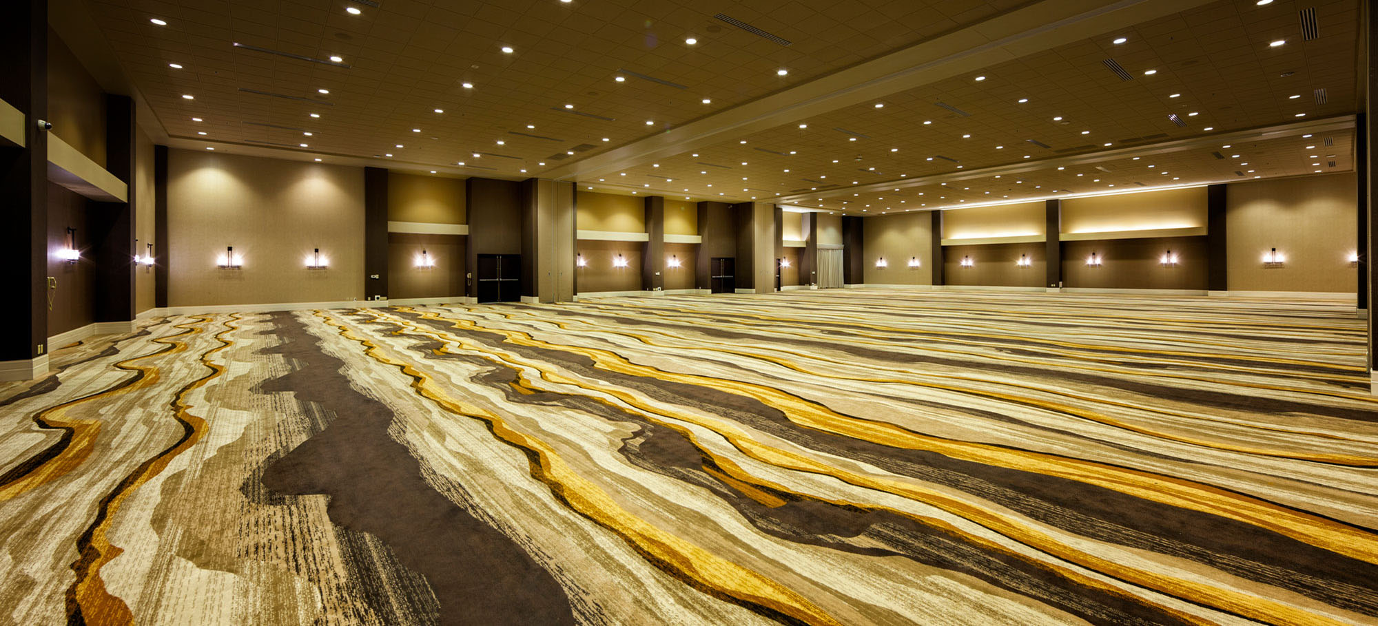Highland ballroom featuring expansive space for meetings and events