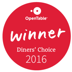 Diners Choice Winner 2015-