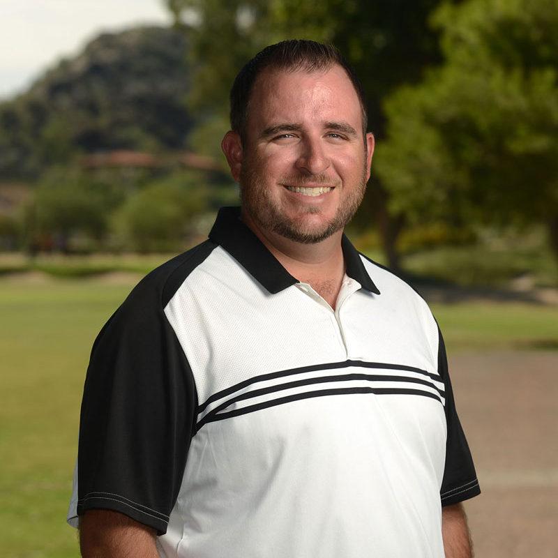Pointe Hilton Tapatio Cliffs Resort Golf Academy Instructor Michael Hopper
